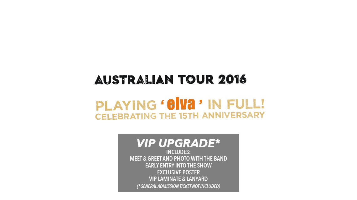 Unwritten Law AUS Tickets